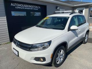 Used 2014 Volkswagen Tiguan COMFORTLINE for sale in Kingston, ON