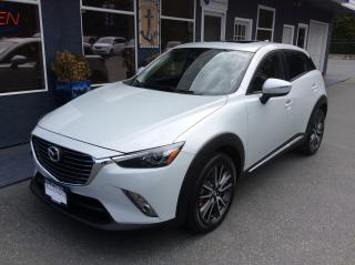 Used 2016 Mazda CX-3 GT for sale in Parksville, BC
