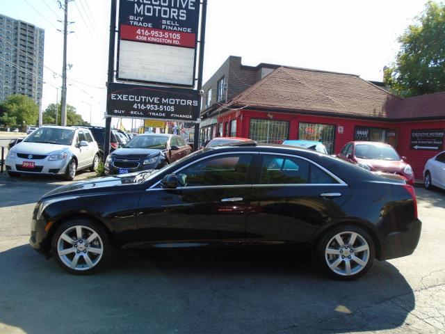 2013 Cadillac ATS LUXURY / LIKE NEW / LOW KM / SUPER  CLEAN / LOADED