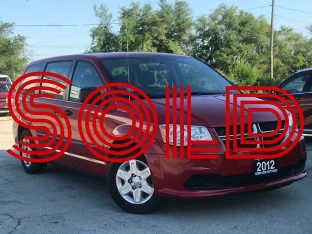 2012 Dodge Grand Caravan SE|Low Mileage|Certified|Warranty