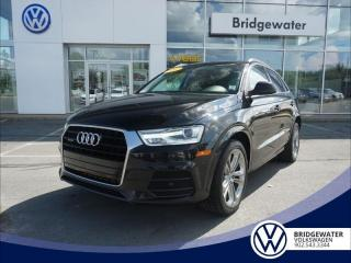 Used 2017 Audi Q3 Progressiv AWD Turbo | Dealer Maintained for sale in Hebbville, NS
