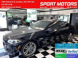 Used 2016 BMW 5 Series 535i xDrive M-PKG+HUD+New Tires+Accident Free for sale in London, ON