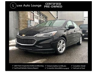 Used 2016 Chevrolet Cruze LT - SUNROOF, AUTO, BOSE, XM RADIO, REMOTE START! for sale in Orleans, ON