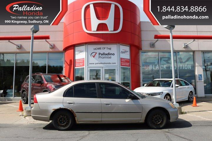 used 2002 honda civic as-is for sale in sudbury, ontario carpages.ca