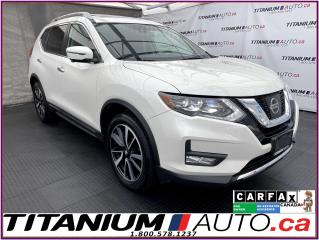 Used 2017 Nissan Rogue SL+AWD+GPS+Safety Shield+Pano Roof+Leather+360 Vie for sale in London, ON