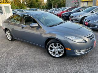 Used 2009 Mazda MAZDA6 GT/ LEATHER/ SUNROOF/ BLUETOOTH/ ALLOYS/ LOADED! for sale in Scarborough, ON