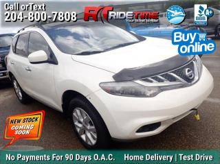 Used 2013 Nissan Murano SL for sale in Winnipeg, MB