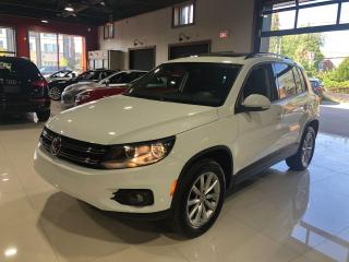 Used 2017 Volkswagen Tiguan Wolfsburg Edition for sale in Thornhill, ON