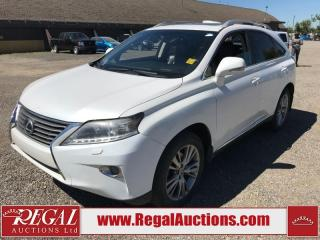 Used 2013 Lexus RX 350 BASE 4D UTILITY AWD 3.5L for sale in Calgary, AB