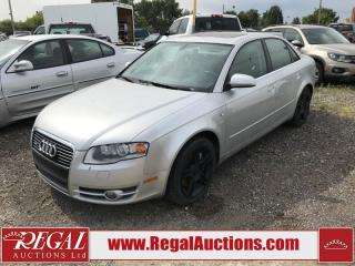 Used 2007 Audi A4 (10-K) for sale in Calgary, AB