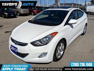 Used 2013 Hyundai Elantra GLS for sale in Hamilton, ON