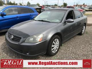 Used 2006 Nissan Altima (25-H) for sale in Calgary, AB