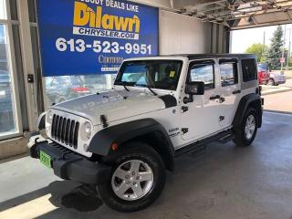 Used 2015 Jeep Wrangler Unlimited Sport w/ Power Convenience for sale in Nepean, ON