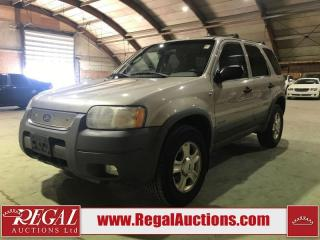 Used 2001 Ford Escape XLT 4D Utility 4WD for sale in Calgary, AB