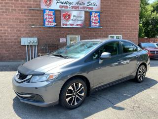 Used 2013 Honda Civic EX/1.8L/5 SPEED/SUNROOF/NO ACCIDENT/SAFETY+WARRANT for sale in Cambridge, ON