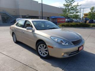 Used 2005 Lexus ES 330 Only 163000 km, Leather, 3/Y warranty availabl for sale in Toronto, ON