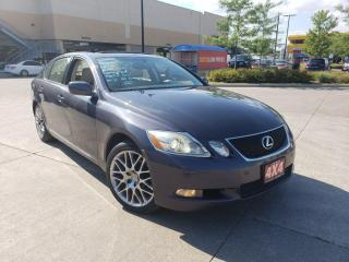 Used 2006 Lexus GS 300 AWD, Navi, Low Km,Leather,  warranty available for sale in Toronto, ON