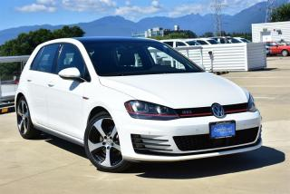 Used 2016 Volkswagen Golf GTI 5-Dr 2.0T Autobahn 6sp for sale in Burnaby, BC