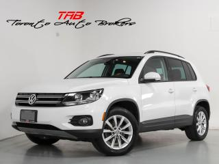 Used 2015 Volkswagen Tiguan 4MOTION I PANO I NAVI I LOCAL VEHICLE for sale in Vaughan, ON