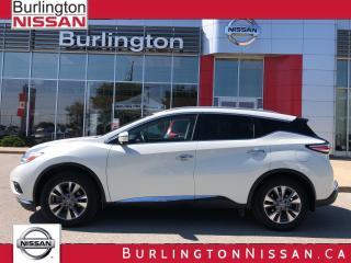 Used 2017 Nissan Murano SL for sale in Burlington, ON