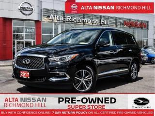 Used 2017 Infiniti QX60 Base for sale in Richmond Hill, ON