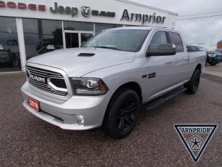 Used 2018 RAM 1500 SPORT for sale in Arnprior, ON