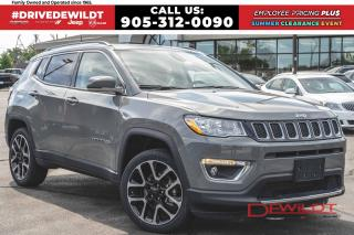 Used 2019 Jeep Compass LIMITED | PANO ROOF | NAV | LEATHER | for sale in Hamilton, ON