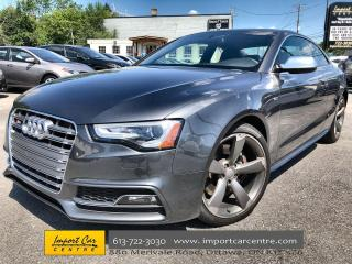 Used 2016 Audi S5 3.0T Technik plus SPORT DIFF  ADAPTIVE SUSP  LEATH for sale in Ottawa, ON