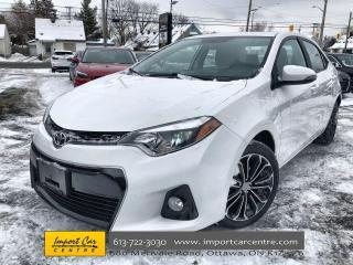 Used 2016 Toyota Corolla S NEW BRAKES  ROOF  6 SPD  HTD SEATS for sale in Ottawa, ON