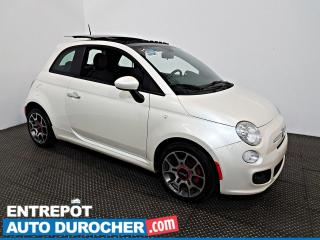 Used 2012 Fiat 500 Sport TOIT OUVRANT - A/C - Sièges Chauffants for sale in Laval, QC
