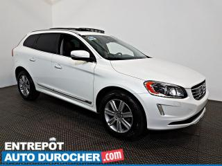Used 2017 Volvo XC60 T6 Drive-E Premier AWD NAV - Toit Ouvrant - A/C - for sale in Laval, QC
