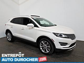 Used 2017 Lincoln MKC Select AWD NAVIGATION - Toit Ouvrant - A/C - CUIR for sale in Laval, QC