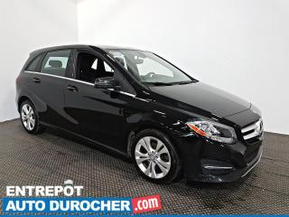 Used 2017 Mercedes-Benz B-Class B 250 Sports Tourer AWD AIR CLIMATISÉ - CUIR for sale in Laval, QC