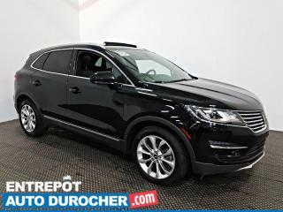 Used 2016 Lincoln MKC Select AWD NAVIGATION - Toit Ouvrant - A/C - CUIR for sale in Laval, QC