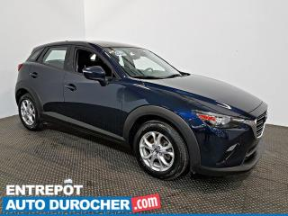 Used 2019 Mazda CX-3 GS AIR CLIMATISÉ - Caméra de Recul for sale in Laval, QC