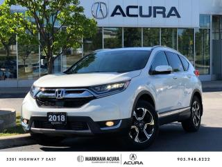Used 2018 Honda CR-V Touring AWD for sale in Markham, ON
