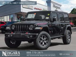 New 2020 Jeep Wrangler Unlimited Rubicon for sale in Niagara Falls, ON