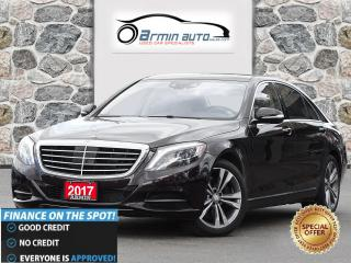 Used 2017 Mercedes-Benz S-Class S 550 4MATIC LWB | HUD | INTELLIGENT DRIVE | 360 for sale in Etobicoke, ON