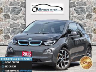 Used 2015 BMW i3 NAV | HARMAN KARDON | INTELLIGENT KEY | FCW | for sale in Etobicoke, ON
