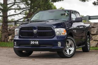 Used 2018 RAM 1500 Express 4x4 Crew Cab 5'7 | Rear Cam | Remote Start for sale in Waterloo, ON