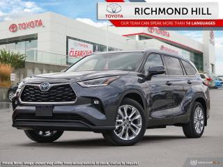 New 2020 Toyota Highlander Limited AWD HYBRID for sale in Richmond Hill, ON
