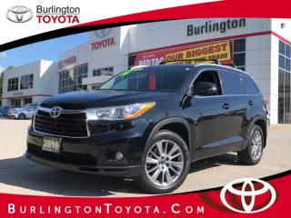 Used 2016 Toyota Highlander XLE for sale in Burlington, ON