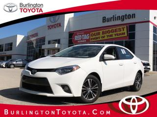 Used 2016 Toyota Corolla LE UPGRADE for sale in Burlington, ON