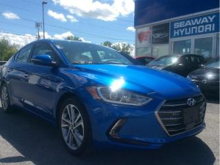 Used 2018 Hyundai Elantra Limited - Navigation - Leather - Local Trade for sale in Cornwall, ON