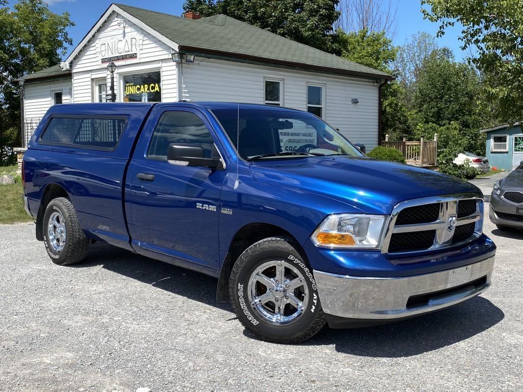used 2010 dodge ram 1500 1-owner no-accidents hemi 5.7 2wd reg cab slt for sale in sutton, ontario carpages.ca