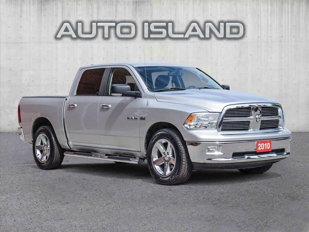 used 2010 dodge ram 1500 4wd crew cab 140.5 for sale in north york, ontario carpages.ca