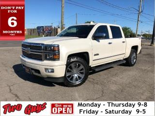 Used 2015 Chevrolet Silverado 1500 High Country | Crew 5.3L V8 | 4x4 | Nav | Leather for sale in St Catharines, ON
