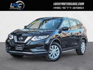 Used 2017 Nissan Rogue S-CAMERA-HEATED SEATS-BLUETOOTH-NO ACCIDENTS-48KMS for sale in Toronto, ON