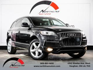 Used 2011 Audi Q7 Quattro 3.0L|S-Line|7 Passenger|Navigation|DVD Entertainment for sale in Vaughan, ON