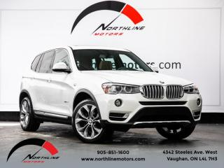 Used 2017 BMW X3 xDrive28i|xLine|Navigation|Pano Roof|Camera|Heated Leather for sale in Vaughan, ON